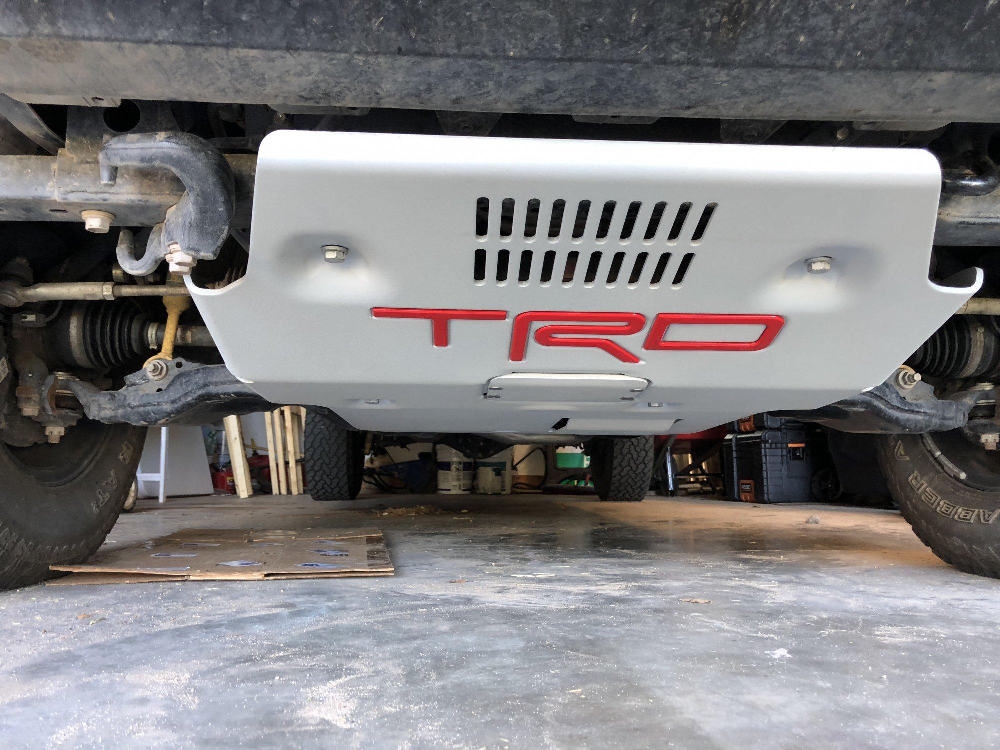 Trd Pro Skid Plate 3rd Generation